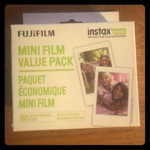 Other - New Instax Mini film- 6 pack of 10 ct. film